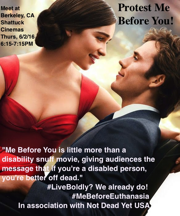 People With Disabilities To Protest Movie Me Before You As